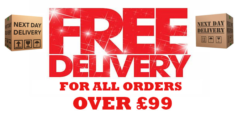 FREE DELIVERY OVER 99