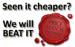Seen it cheaper? - We will beat it