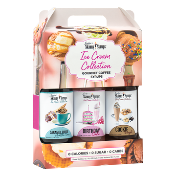 Jordans Skinny Syrups -  Ice Cream Collection Trio