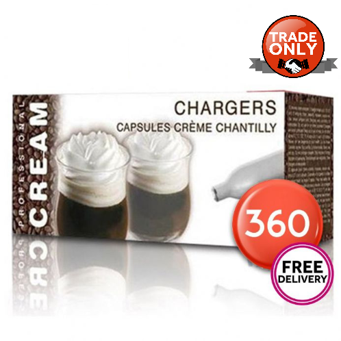 Liss Cream Chargers 360 Pack